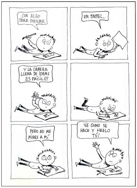 historieta en 1985 hice cómo se hace una historieta luego se editó ...